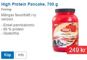 high protein panncake