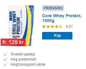 core whey proteinpulver