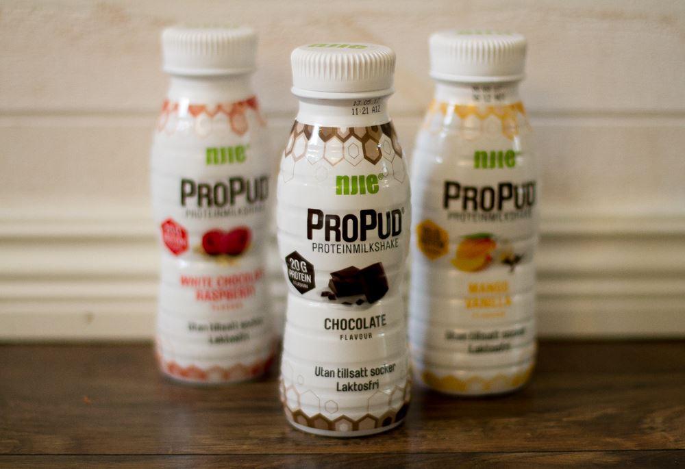propud milkshake nyttigt